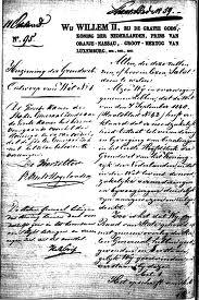 Nederlandse Grondwet 1848 - Preambule
