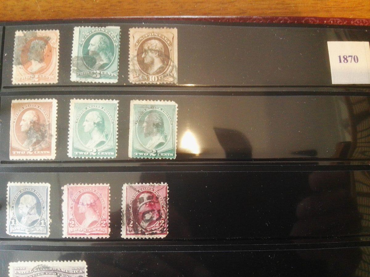 Verenigde Staten van Amerika: mooie grote verzameling postzegels