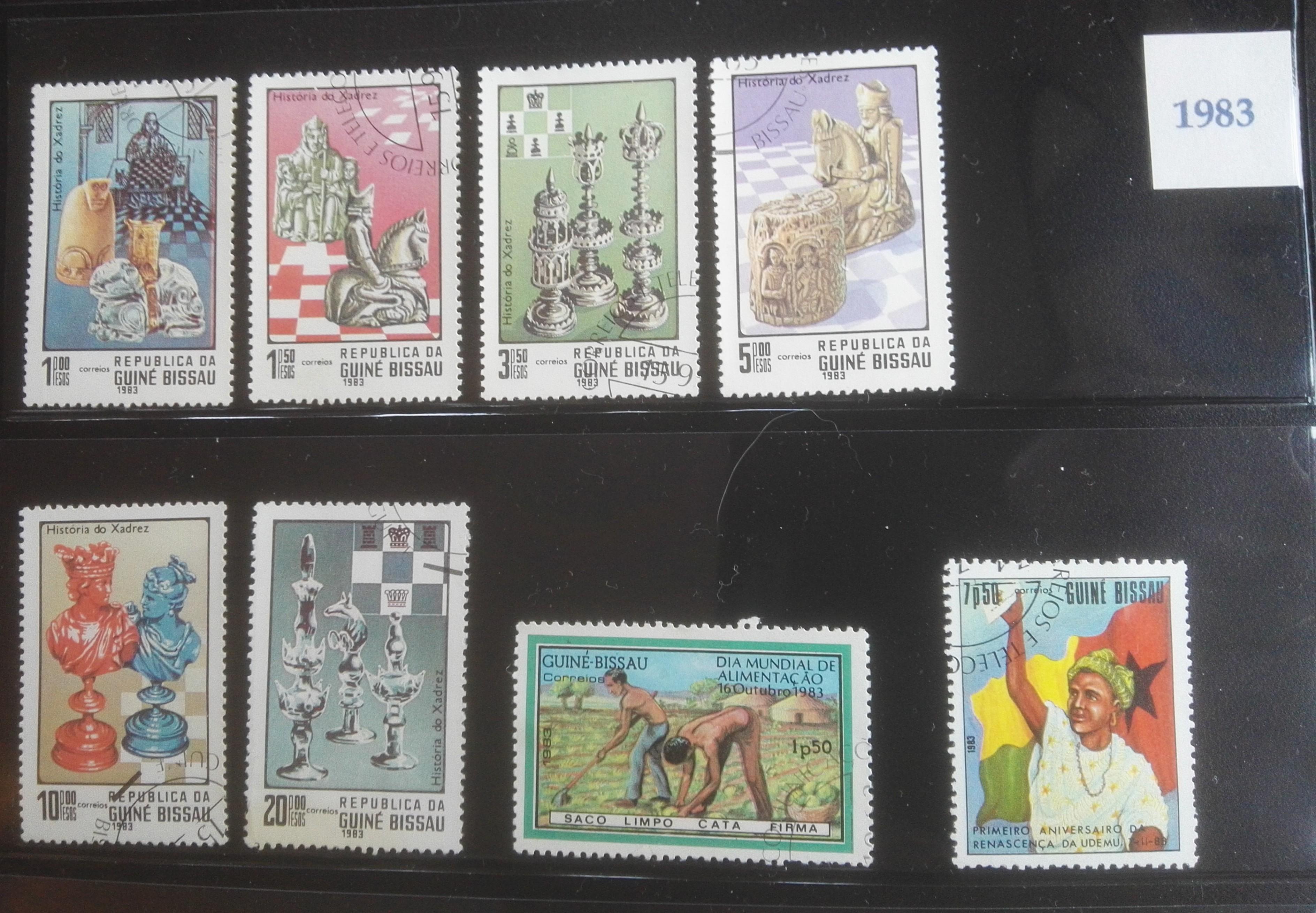 Postzegels 1983 Guinee-bissau