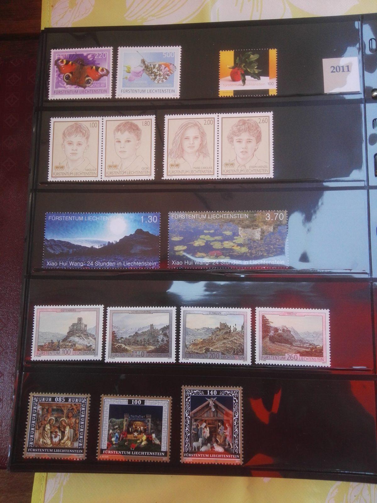 Liechtenstein en het jaar van de draak (2011)