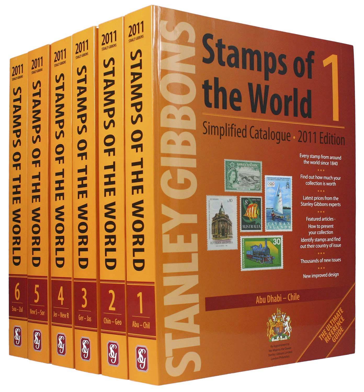 Stanley Gibbons postzegelcatalogus